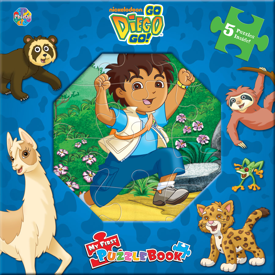 My First Puzzle Book Go Diego Go  icklebooks